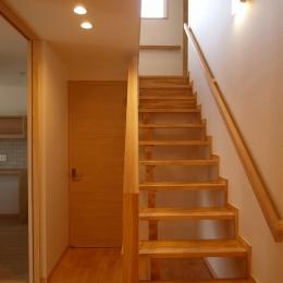 亀崎の家 (オープン型階段)