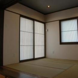 床下収納のある和室 (K4邸)
