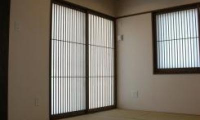 床下収納のある和室|K4邸