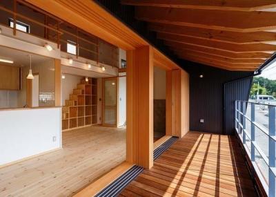 生駒の家 (リビング)