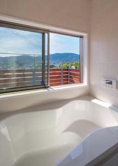 生駒の家 (浴室)