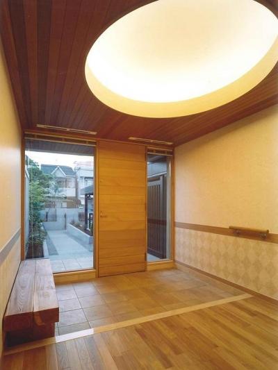 武蔵中原の家 (玄関)