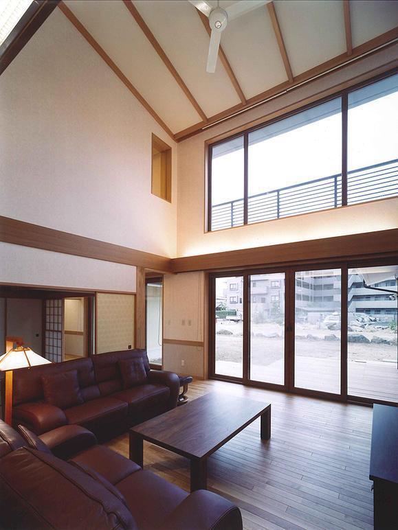 武蔵中原の家の部屋 リビング