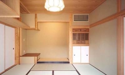 武蔵中原の家 (和室)