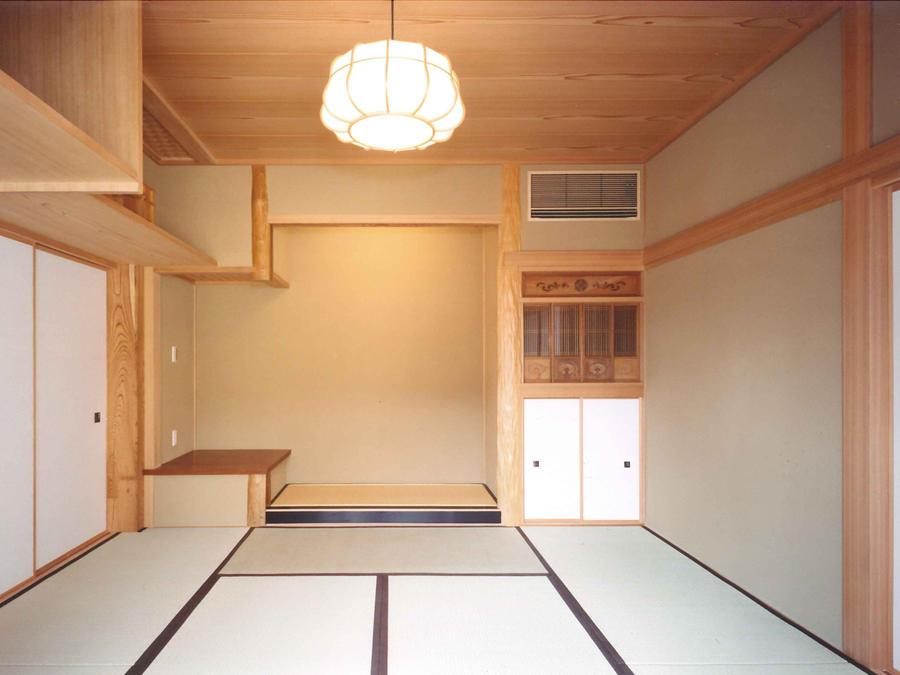 武蔵中原の家の写真 和室
