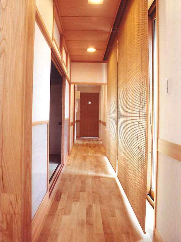 武蔵中原の家の部屋 広緑