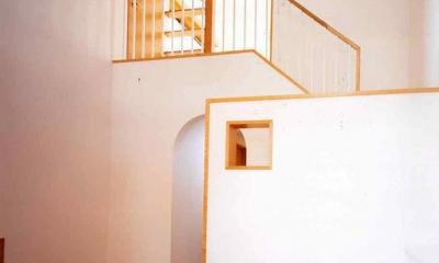 横浜青葉台の家 (玄関ホール)