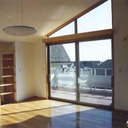 横浜青葉台の家 (リビング1)
