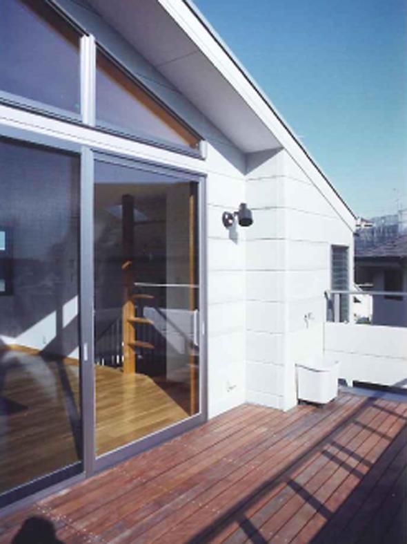 横浜青葉台の家の部屋 ルーフテラス