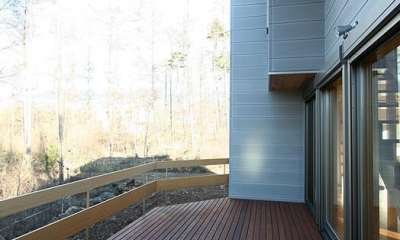 八ヶ岳山荘 (北側テラス)
