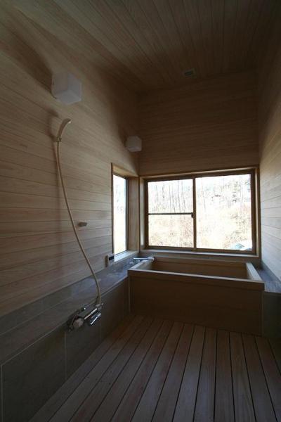 八ヶ岳山荘 (浴室)