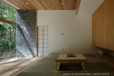 和室 (040軽井沢Cさんの家)