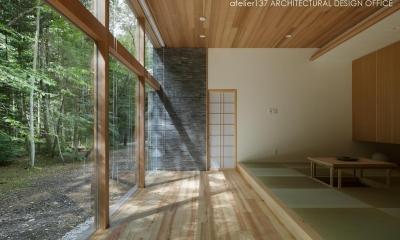 ゲストルーム|040軽井沢Cさんの家