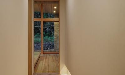 040軽井沢Cさんの家 (廊下)
