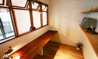書斎スペース|大人の秘密基地。