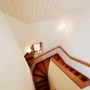 Nez-T邸の写真 階段だって生活の場