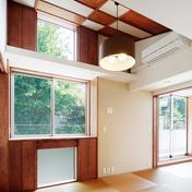 Nez-T邸の部屋 昔でいう前室を再現した、用途フリーの和室
