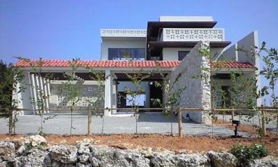 okinawa-kouri 02 沖縄古宇利島の完全貸切リゾートホテル「ONE SUITE」 (外観)