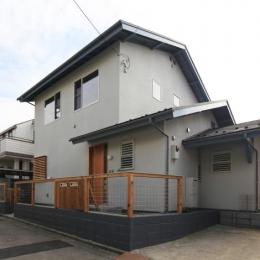 西鎌倉の家リノベーション (外観)