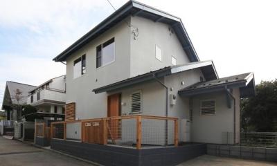 外観|西鎌倉の家リノベーション