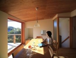 西鎌倉の家リノベーション (2階の子世帯リビングダイニング1)