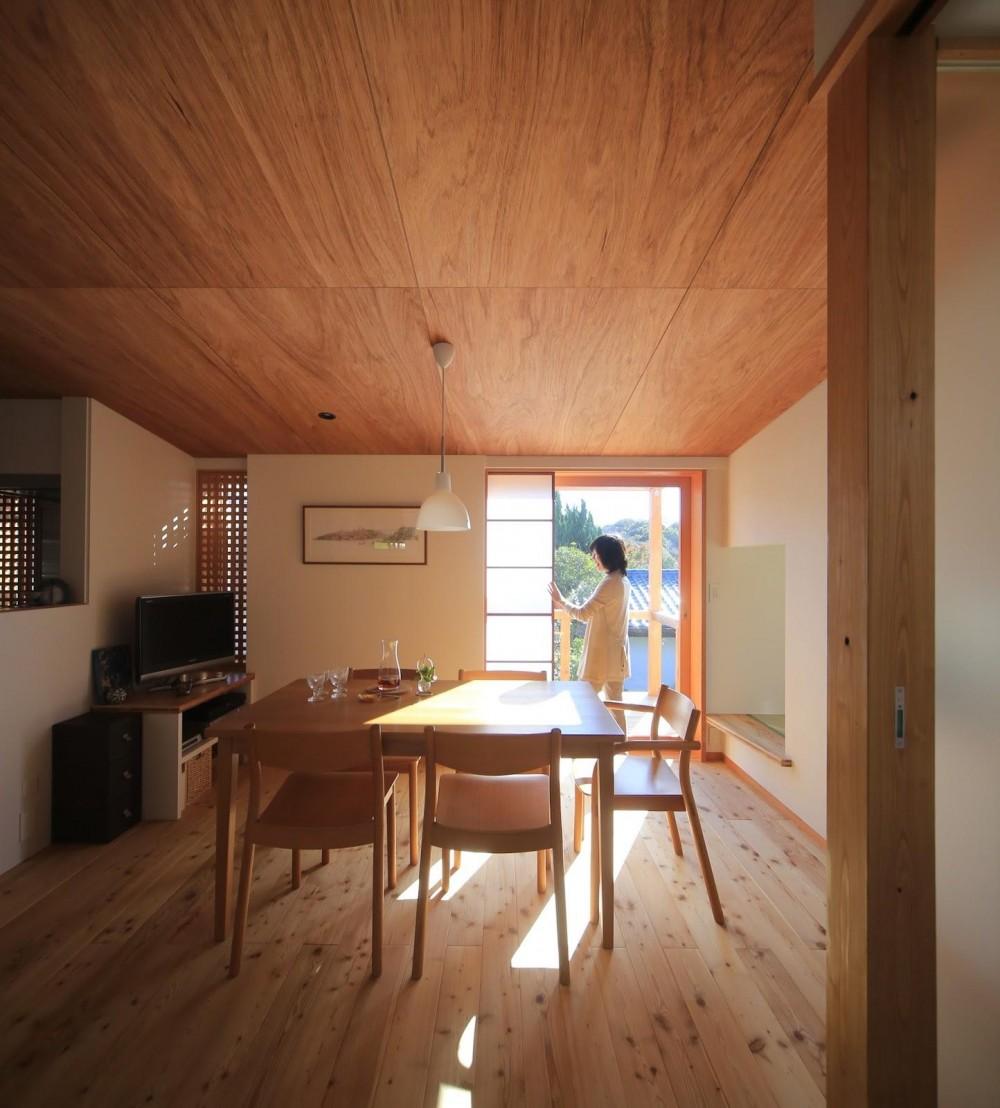 西鎌倉の家リノベーション (2階の子世帯リビングダイニング2)