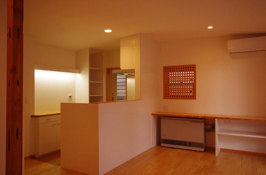 西鎌倉の家リノベーション (1Fリビング)