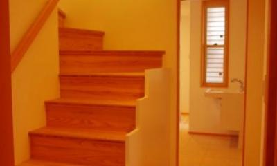 西鎌倉の家リノベーション (階段)