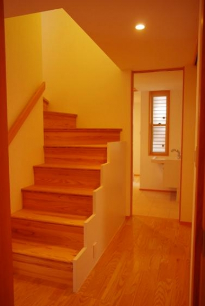 階段 (西鎌倉の家リノベーション)