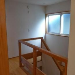 稲口町の家 (廊下)