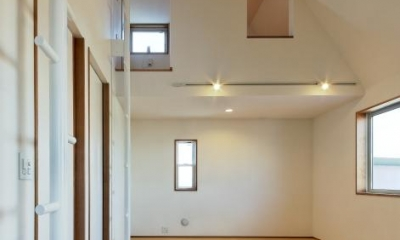 稲口町の家 (ロフト付きの子供部屋)