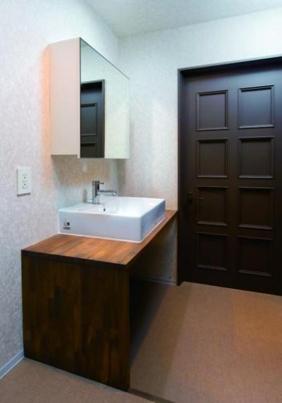 洗面スペース (古きを愉しむRC、戸建。)