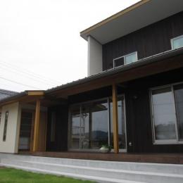田上の家 (外観)