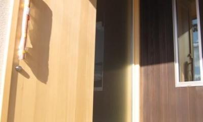 玄関|田上の家