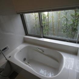 城島の家 (浴室 (撮影:岡本公二))