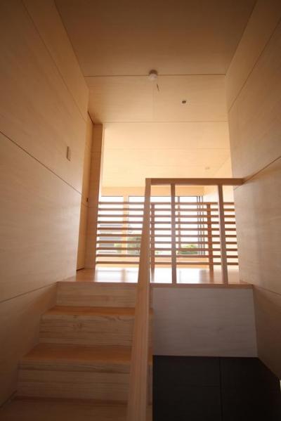 階段 (撮影:岡本公二) (城島の家)