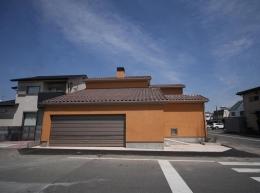 チカちゃん家 (外観 南面)