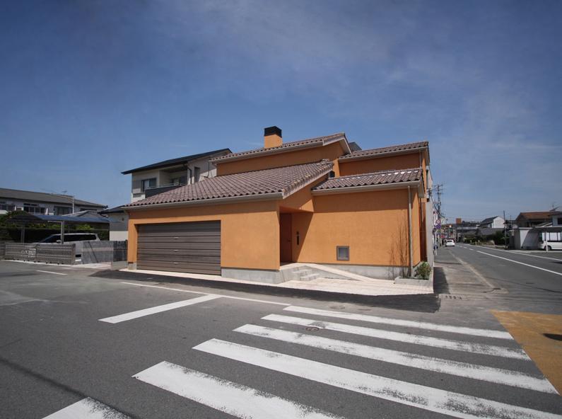 チカちゃん家 (外観 南東面)