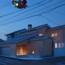 チカちゃん家の写真 外観 夕景