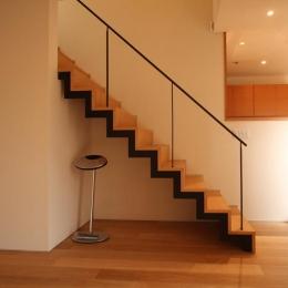 チカちゃん家 (階段)
