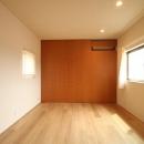 チカちゃん家の写真 寝室