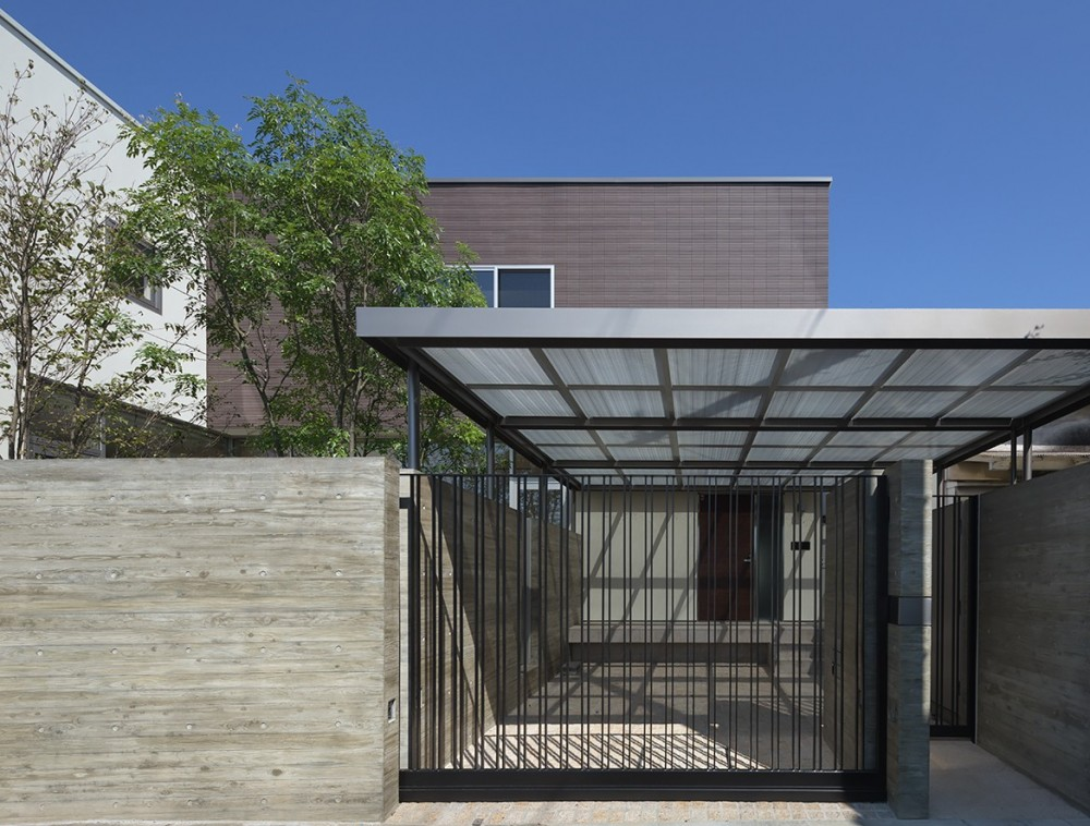 Garden House (外観 夕景)