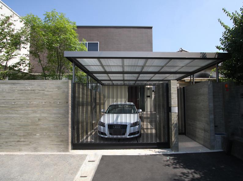 Garden Houseの部屋 車庫