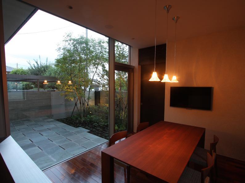 Garden Houseの部屋 食堂
