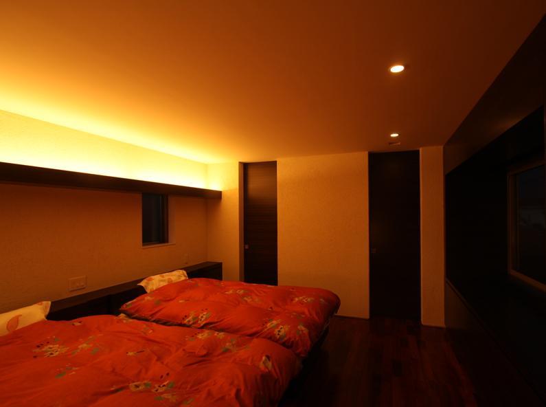 Garden Houseの部屋 寝室