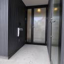 川嶋玄の住宅事例「白いウッドデッキの家」