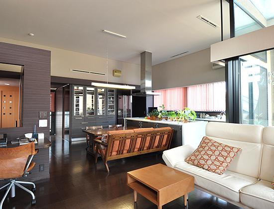 建築家:川嶋玄「大きな空間の家」