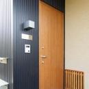 坊屋敷町の家の写真 玄関ドア