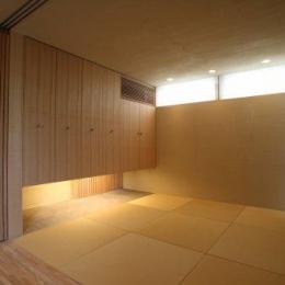 坊屋敷町の家 (1F和室)
