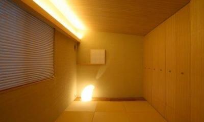 坊屋敷町の家 (2F客室)